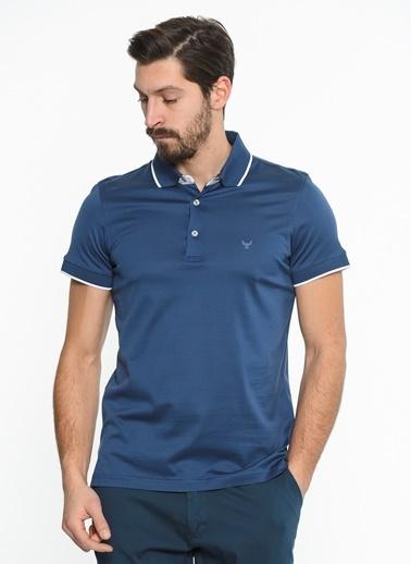 Comienzo Polo Yaka Tişört İndigo